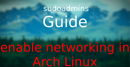 How to Install KDE Plasma in Arch Linux (Guide) - sudoadmins